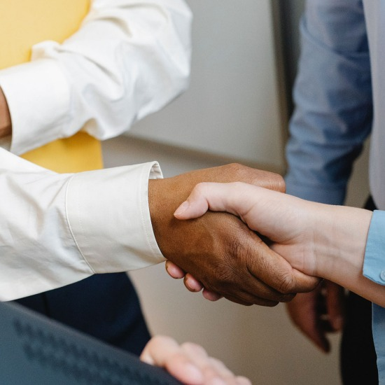 Person administering contracts